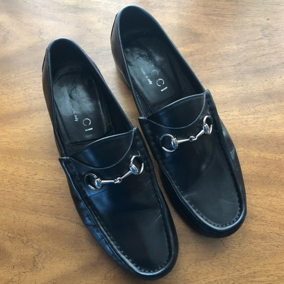 9834555097c Gucci Other - Gucci Black Horsebit Leather Loafers Mens